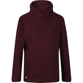 Regatta Radmilla Sweat À Capuche En Polaire Femme, dark burgundy